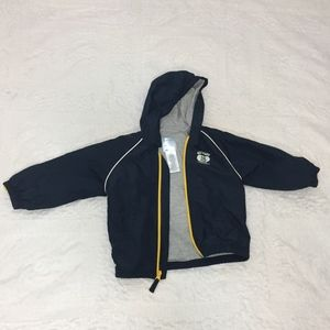 3/$25 Boys Old Navy Blue Zip Track Jacket Size 2T